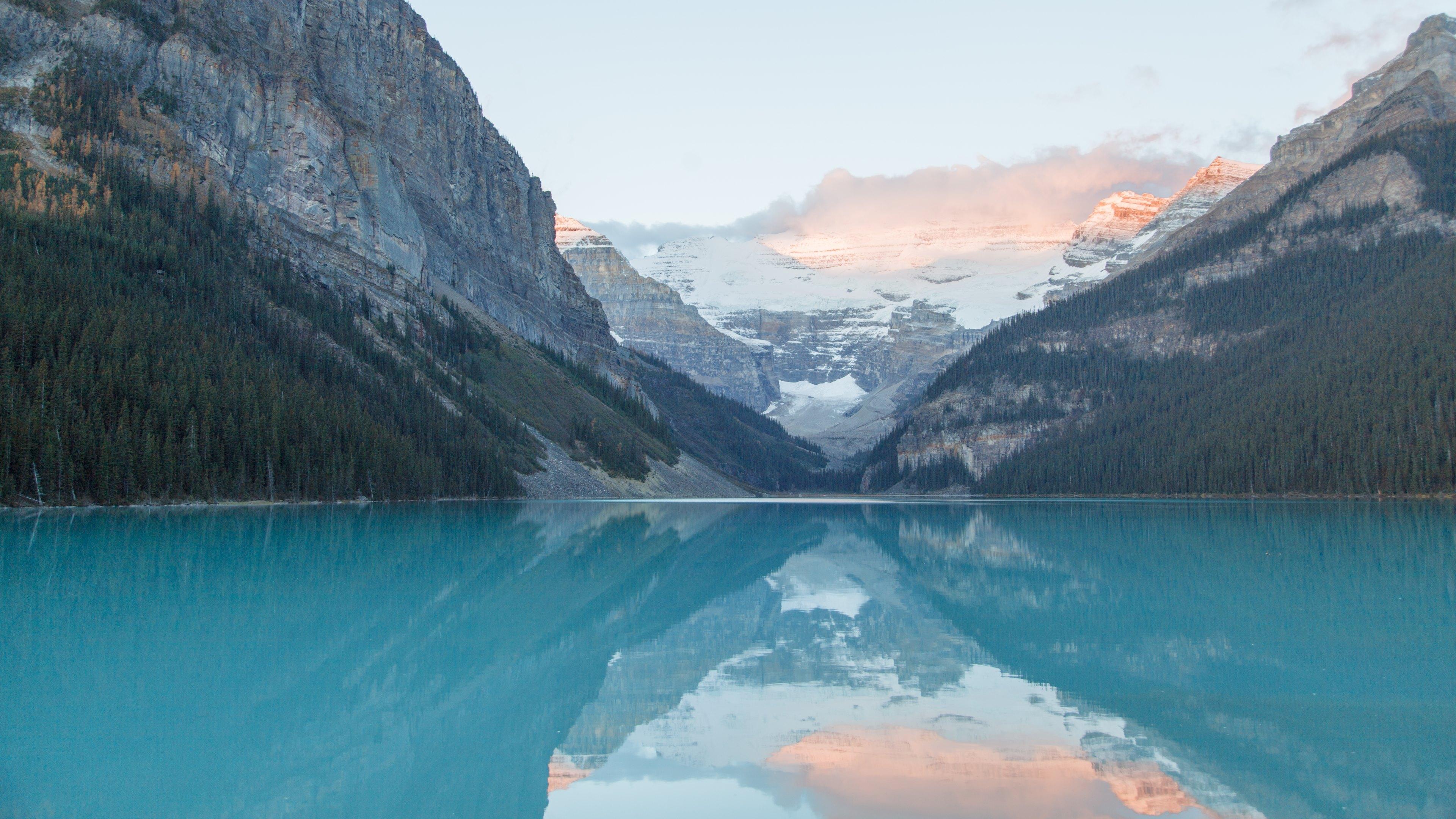 blue lake wallpaper 4k - photo #17