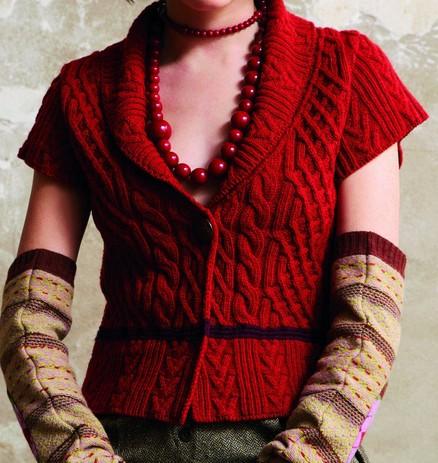 free knitting pattern: women vest patterns 2012