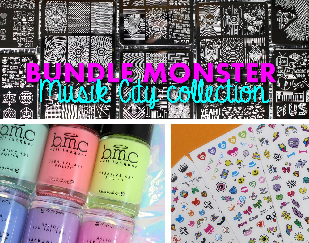 Bundle Monster | Musik City collection ~ Glitterfingersss in english