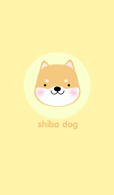 Simple Shiba inu Dog theme