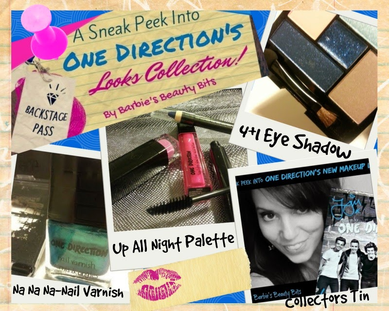 A Sneak Peek Into One Directions New Makeup Line; The Looks Collection, By Barbie's Beauty Bits