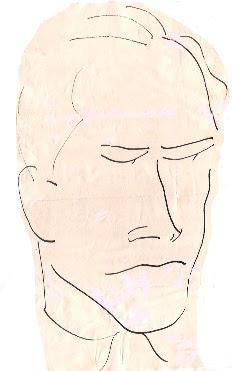 Dibujo del ajedrecista Àngel Ribera