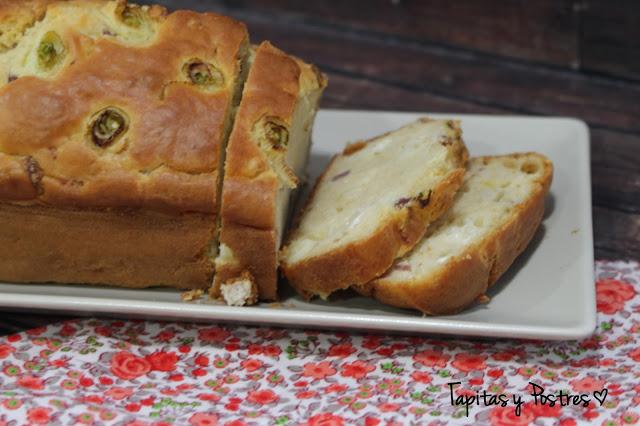Pan de jamón y queso para brunch