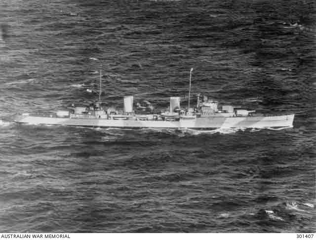 HMAS Sydney, lost at sea on 19 November 1941 worldwartwo.filminspector.com