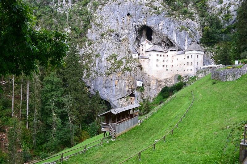 Chateau, Prejama, Slovénie, voyage, europe