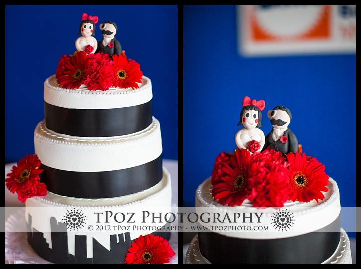 Baltimore wedding cake
