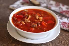como preparar consome de tomate
