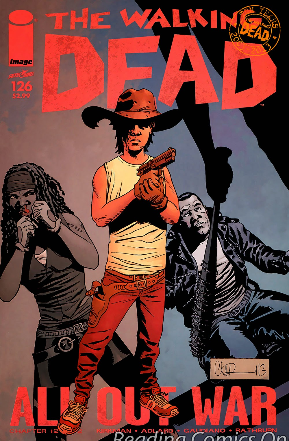 The Walking Dead | Viewcomic reading comics online for free 2019