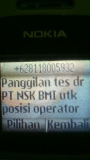 PT Nsk Bearings Manufacturing Indonesia