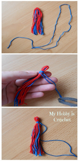 How to make a tassel - A step by step tutorial