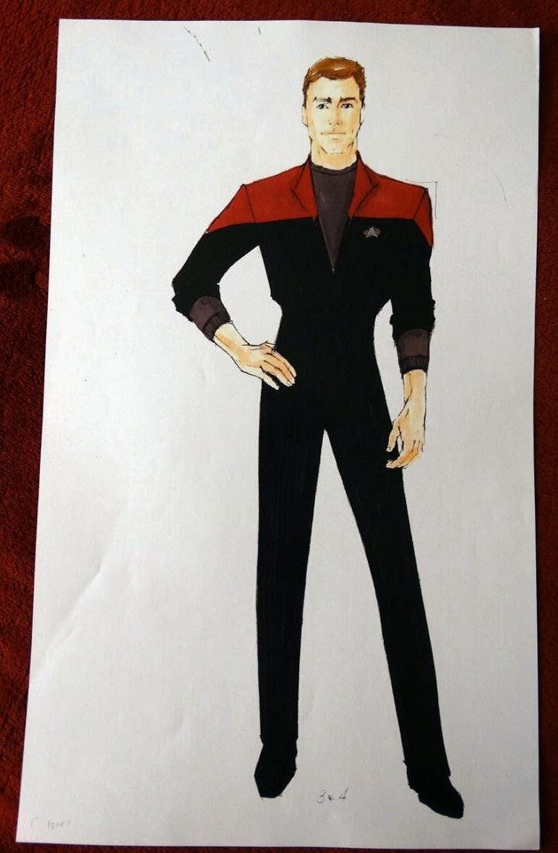 Sketches Star Trek Ds9