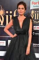 Esha Gupta in a Deep Neck Sleeveless Dark Green Gown at IIFA Utsavam Awards 2017     44.JPG