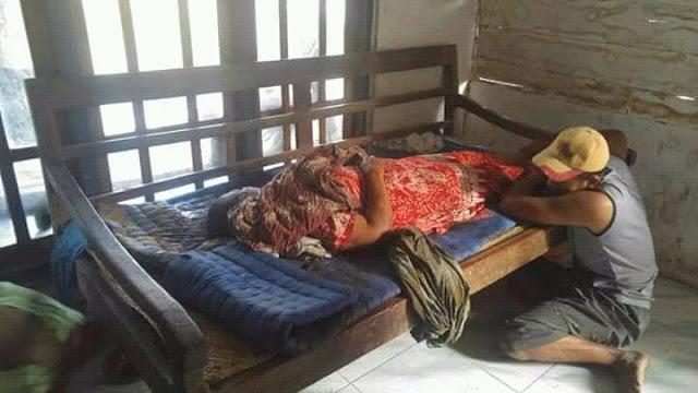 Diduga Mengalami Setres, Pria ini Tega Bunuh Ibunya Saat Tidur Pulas Dengan Cara Tak Lazim. Miris!