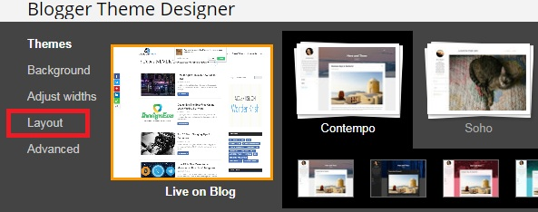 Remove Sidebars in Blogger