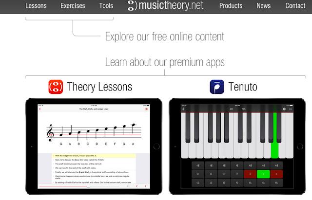 MusicTheory este un alt site bun, dar și gratuit, folositor pentru a te invata sa canti la pian.