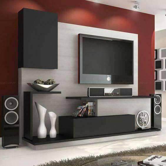 20 Modern Living Room Contemporary Entertainment Wall Tv Units Decor Units