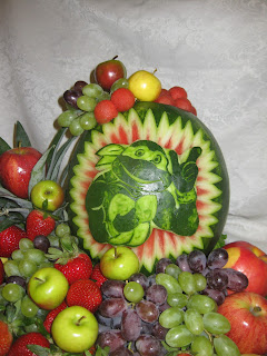 Fruit Platter Can Say It Ninja Turtle