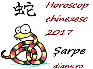 Horoscop chinezesc Şarpe 2017