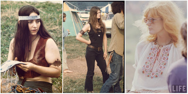 Girls Of Woodstock: The Best Beauty And Style Moments From