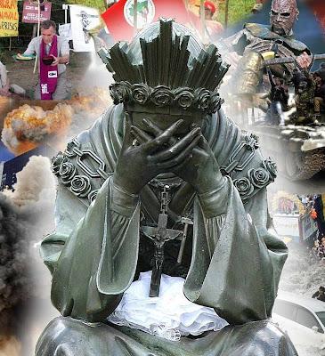 A crise da Igreja e as apostasías no clero e nos fiéis é o maior triunfo de Satanás