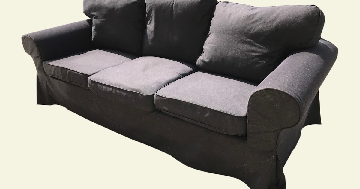 Uhuru Furniture Collectibles Ikea Ecktorp Sofa With Removable Slipcover 195 Sold