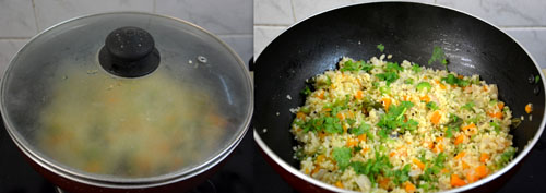 how to make bulgur upma