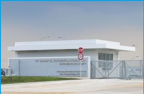 Lowongan kerja SMA/SMK PT.Sharp Eletronics Indonesia Kawasan Industry KIIC