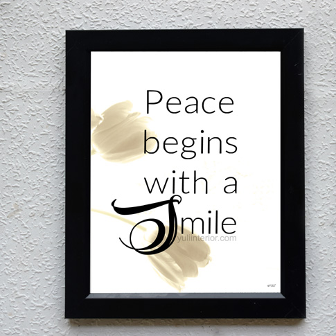 Mother Teresa Quote Wall Frame, Wall Art in Port Harcourt, Nigeria