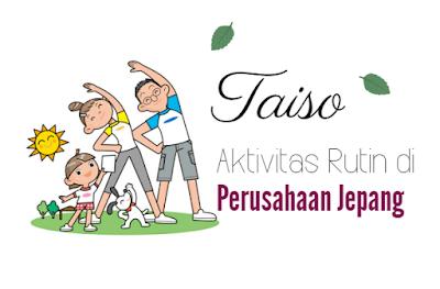 taiso aktivitas olah raga di perusahaan jepang