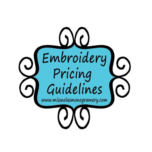 Embroidery Pricing Guidelines