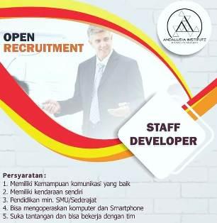 Lowongan Kerja Sebagai Staff Developer di Makassar
