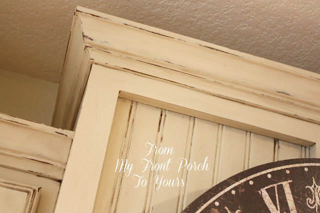 annie sloan chalk painted kitchen cabinets in old ochre from my front porch to yours  kitchen cabinet painting tutorial      rh   frommyfrontporchtoyours com