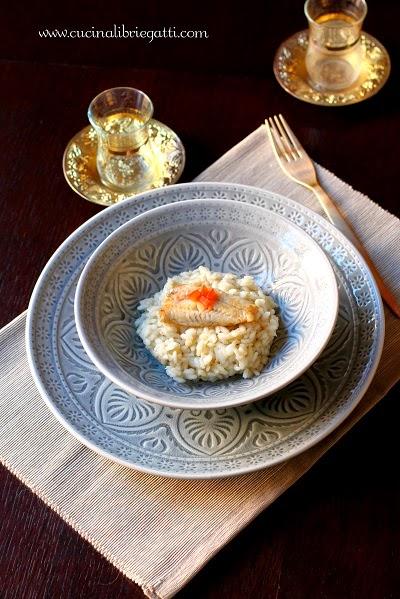 risotto topinambur triglia pesce ricetta