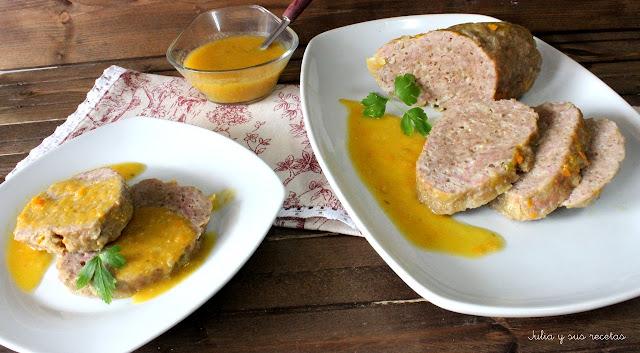 Pastel de carne a la florentina. Julia y sus recetas