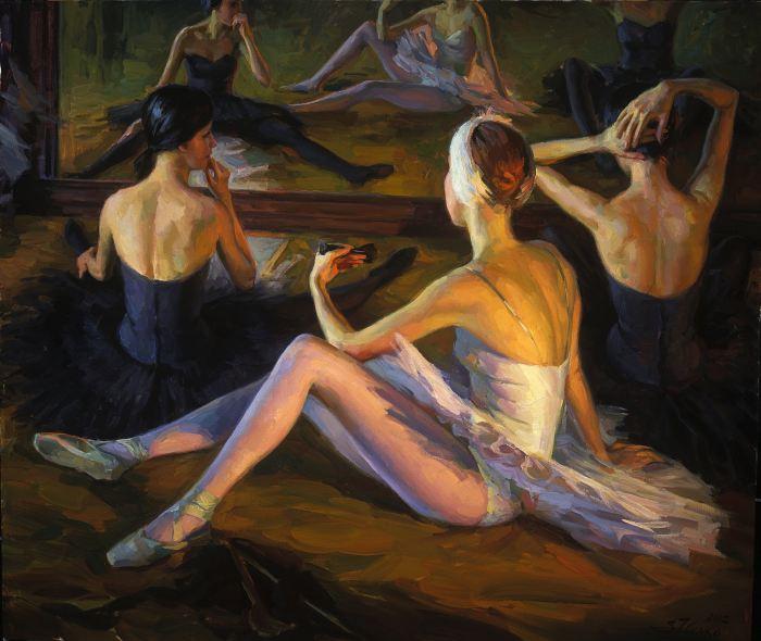 Традиционная русская школа живописи. Serguei Zlenko