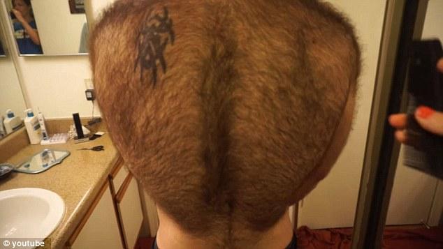 Shaved her pubic hair - yogi bear