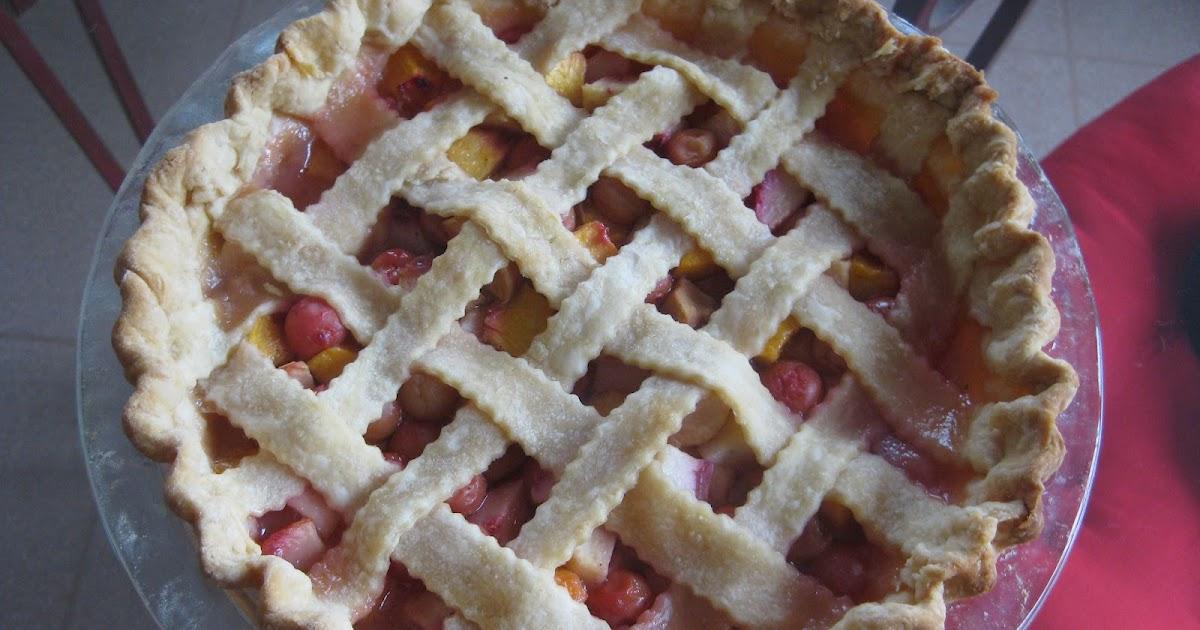 The Pie Experiment: Pie # 52: Sour Cherry and Peach Pie