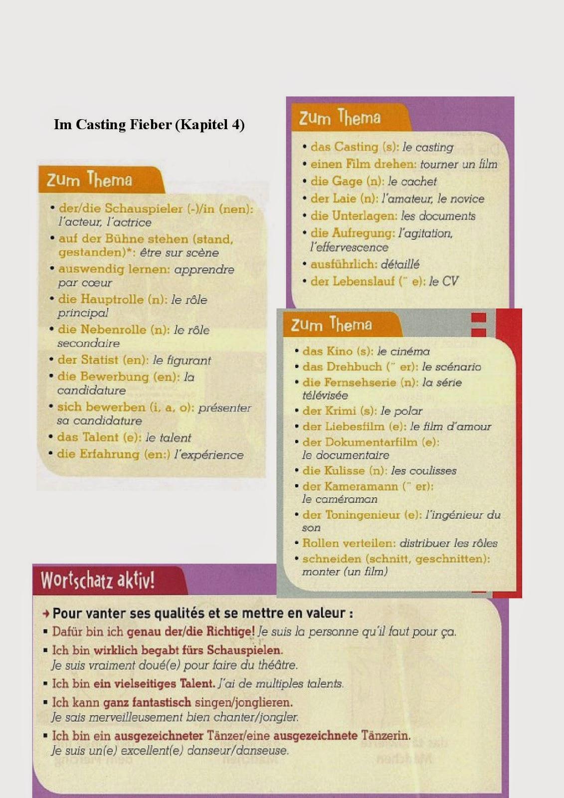 qualifier competences cv