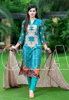 Range Vol-3 2015 Luxury Embroidered Lawn