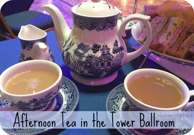 blackpool tower ballroom afternoon tea