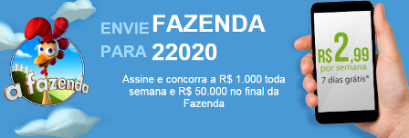 ganhar 50 mil reais assistindo a Fazenda 7