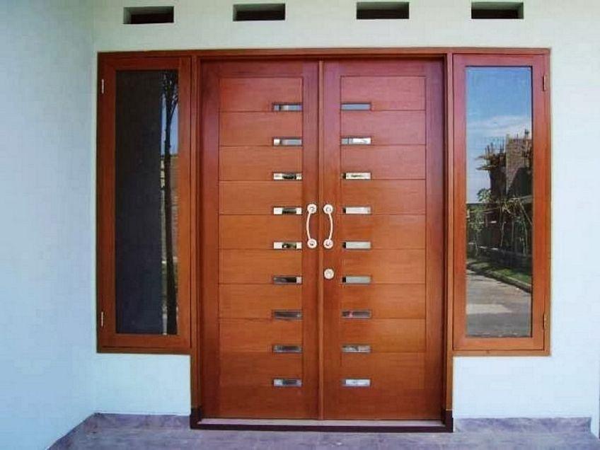 pintu dua daun minimalis 4