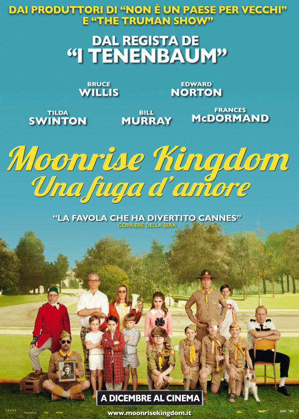 Libri Amp Cultura Moonrise Kingdom Ruby Sparks Scusa Mi