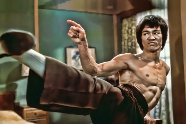 I fear not the man who has practiced 10,000 kicks once, but I fear the man who has practiced one kick 10,000 times-Bruce Lee