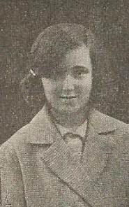 La joven ajedrecista Pepita Martínez
