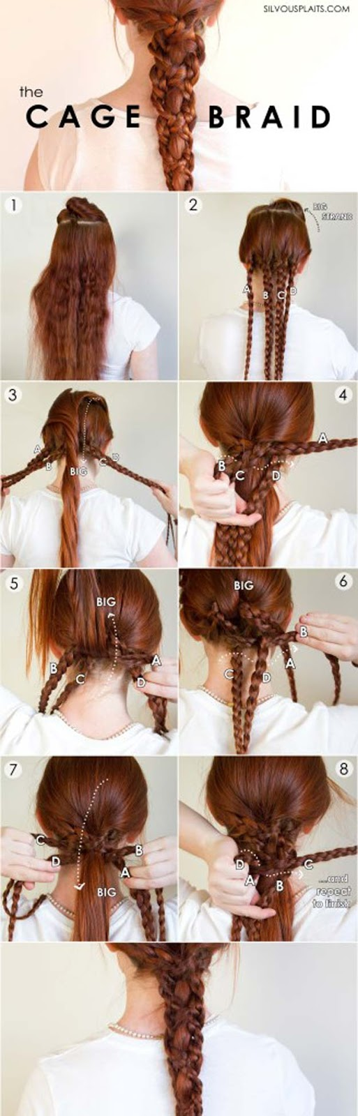 6 cutest easy braided hair tutorial in 10 minutes 5