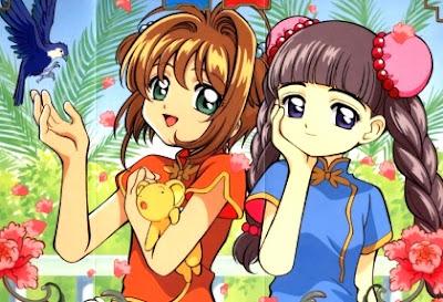 Dibujo de Shakura Avalón muy feliz junto a su amiga