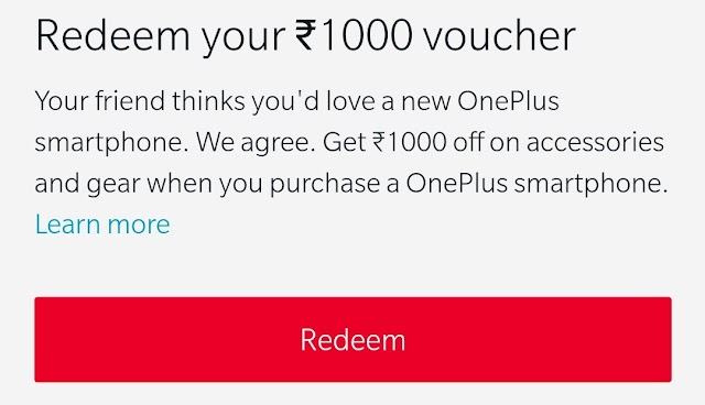 OnePlus Giving Free Rs.1000 Coupon and 3 Months Extra Warranty along with OnePlus Mobile