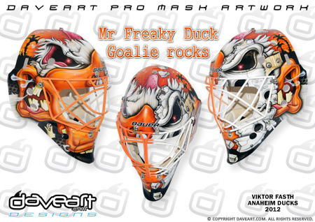 I Love Goalies!  Viktor Fasth 2012-13 Mask 08722252c