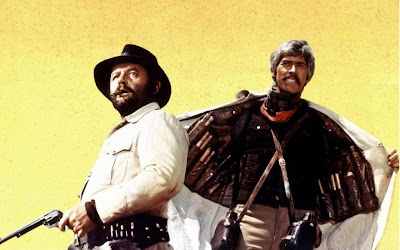 Rod Steiger, James Coburn in Sergio Leone's Giù la testa aka Duck, You Sucker aka A Fistful of Dynamite (1971)